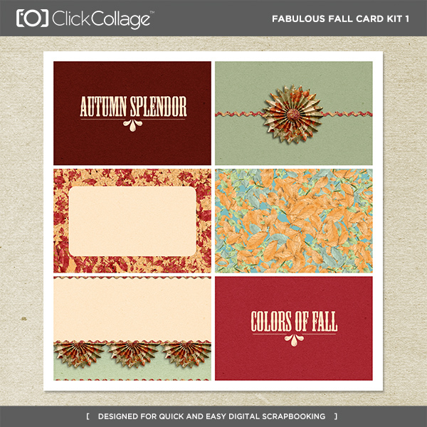 Fabulous Fall Card Kit 1