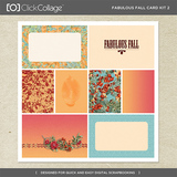 Fabulous Fall Card Kit 2