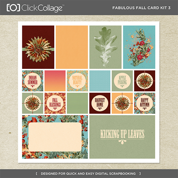 Fabulous Fall Card Kit 3