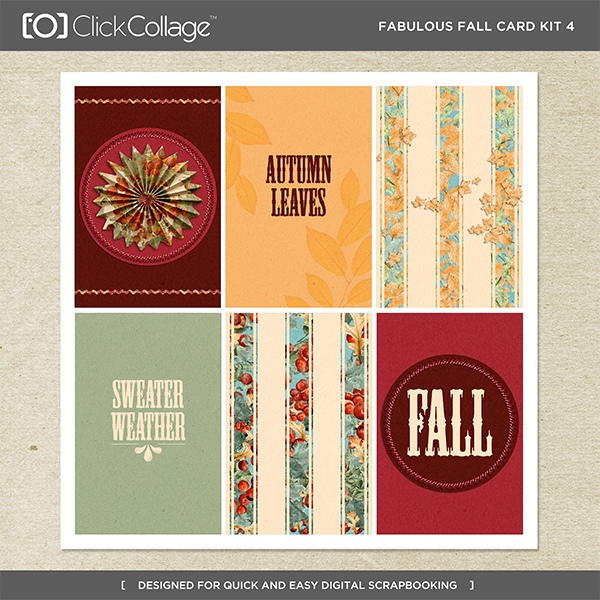 Fabulous Fall Card Kit 4