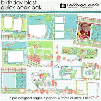 Birthday Blast Quick Book Pak