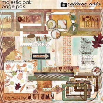 Majestic Oak Page Pak