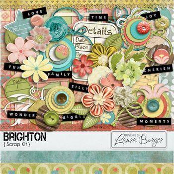 Brighton Scrap Kit