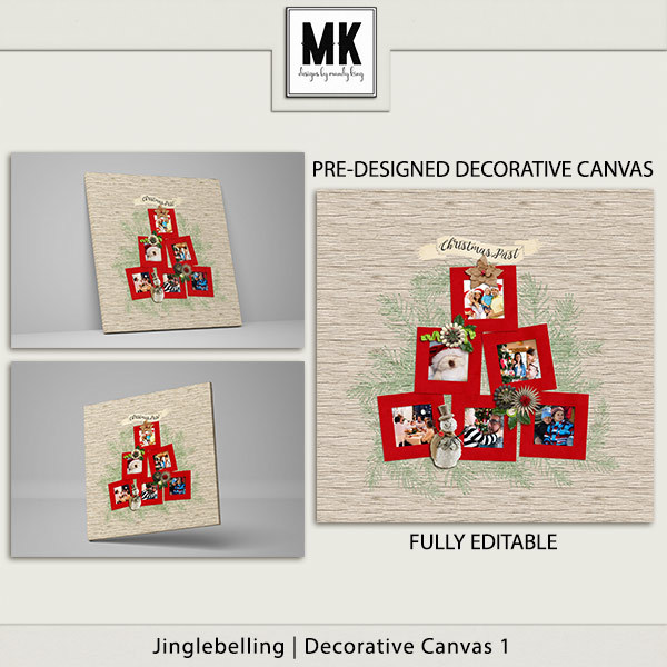Jinglebelling - Decorative Canvas 1