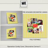 Operation Candy Cane - Decorative Canvas 2