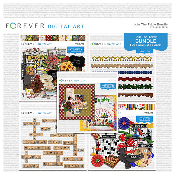 Join The Table - Bundle Digital Art - Digital Scrapbooking Kits