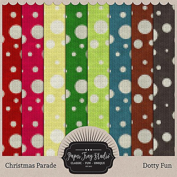 Christmas Parade - Dotty Fun