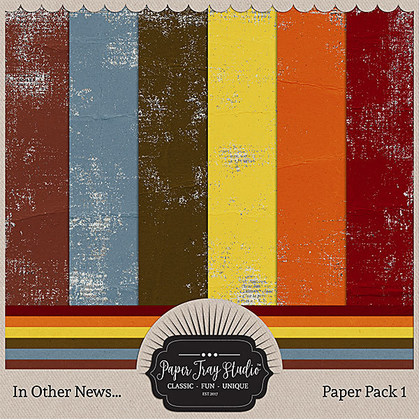 In Other News - Paper Pack 1