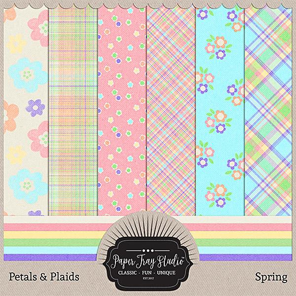 Petals & Plaids - Spring