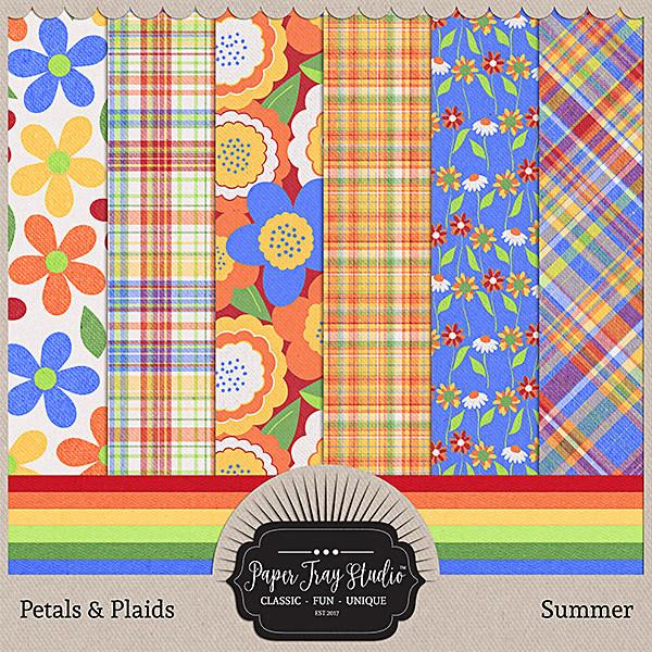 Petals & Plaids - Summer