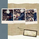 Rustic Chic 12x12 Digital Predesigned Pages