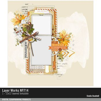 Layer Works No. 714 Layered Template