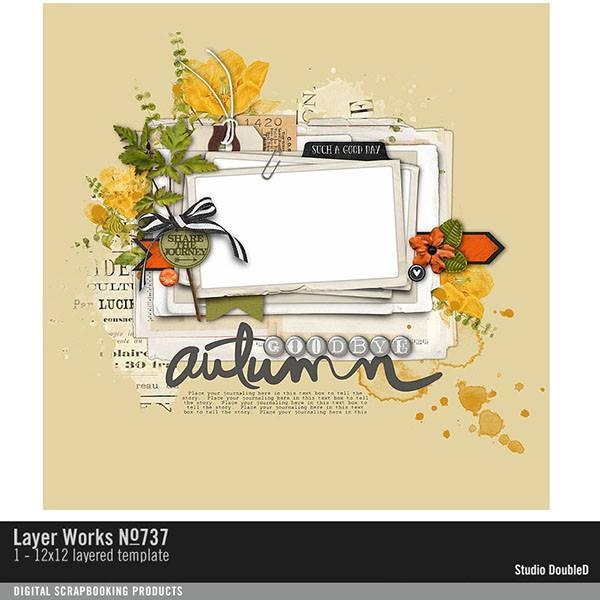 Layer Works No. 737 Layered Template