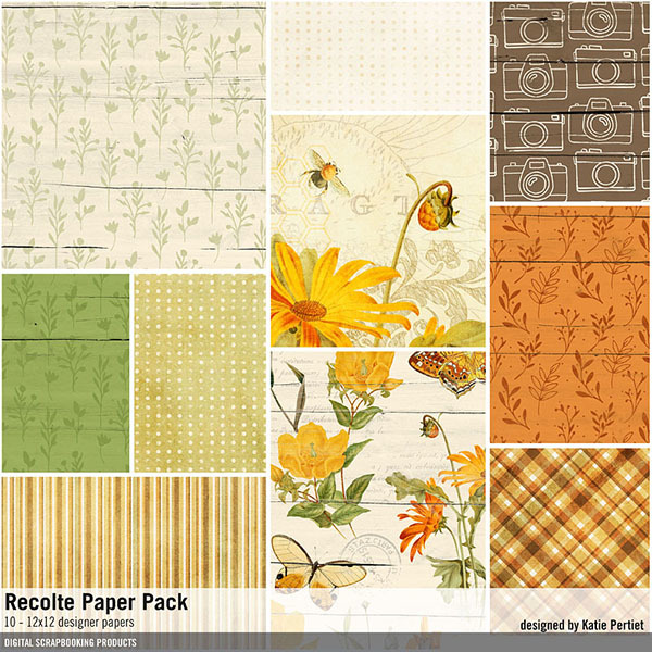 Recolte Paper Pack