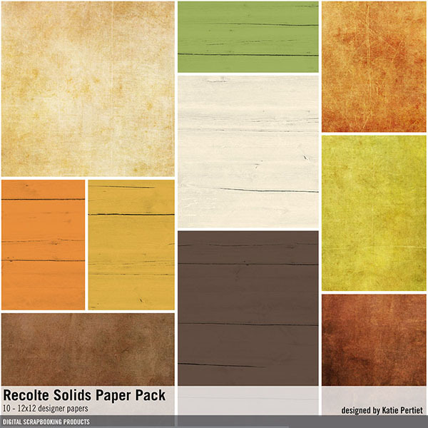 Recolte Solids Paper Pack