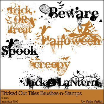 Tricked Out Titles Brushes And Stamps