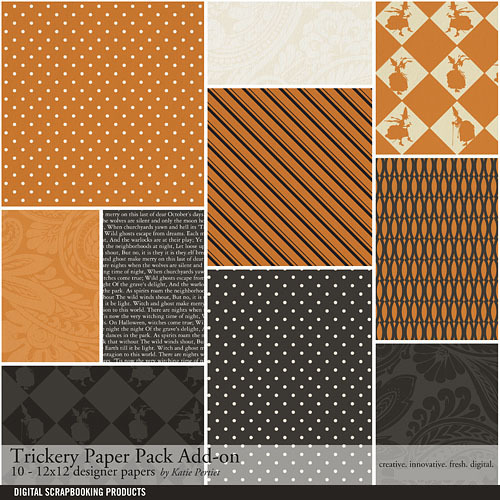 Trickery Add-on Paper Pack