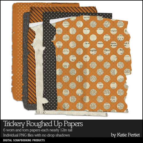 Trickery Roughed Up Paper Pack