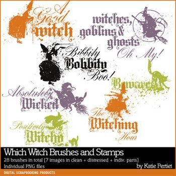 Which Witch Brushes And Stamps
