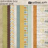 Adorable Boy Paper Pak
