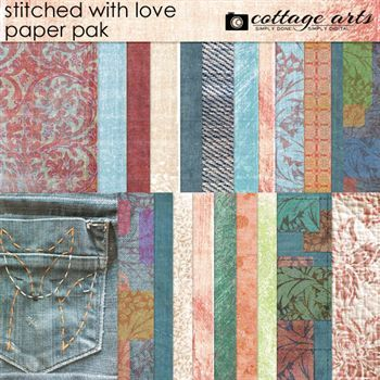 Stitched With Love Paper Pak