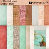 Tattered Love Paper Pak