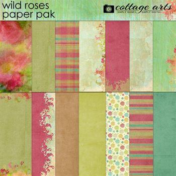 Wild Roses Paper Pak