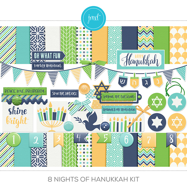 8 Nights Of Hanukkah Kit