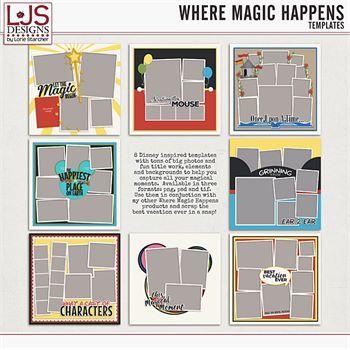 Where Magic Happens - Templates