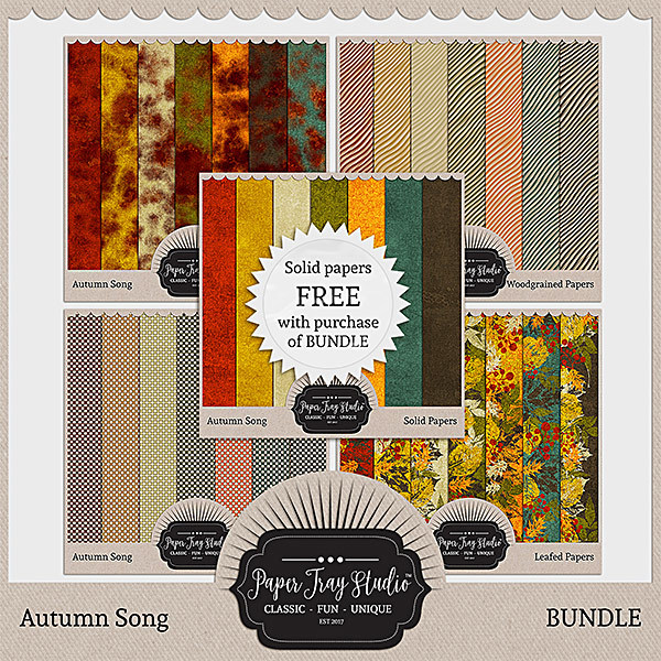 Autumn Song Papers - Bundle