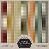 Autumn Song Papers - Woven Papers