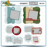 Ornament Blueprints And Predesigned Templates