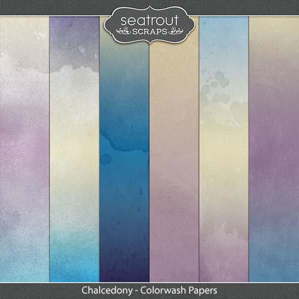 Chalcedony Colorwash Papers