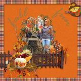 Once Upon A Scarecrow - Page Kit