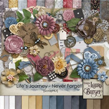 Life's Journey - Never Forget Scrap Kit