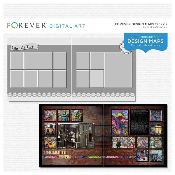 Forever Design Maps 19 12x12