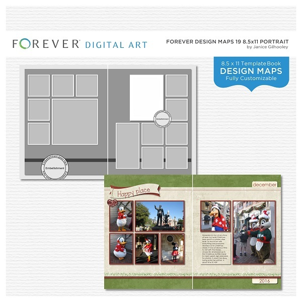 Forever Design Maps 19 8.5 X 11 Portrait