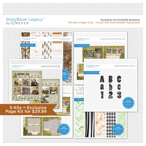 Rugged Outdoors StoryBook Legacy™ Bundle