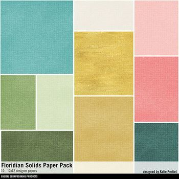 Floridian Solids Paper Pack
