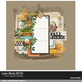 Layer Works No. 725 Layered Template