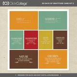 30 Days Of Gratitude Card Kit 2