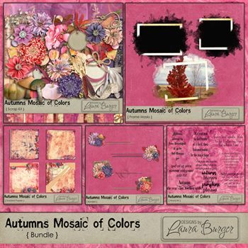 Autumn Mosaic Of Colors Bundle