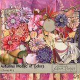 Autumn Mosaic Of Colors Scrap Kit