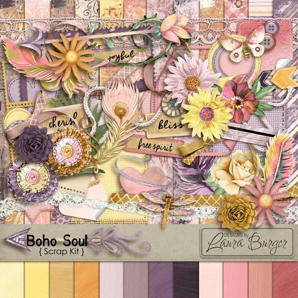 Boho Soul Scrap Kit