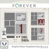 Clean And Simple Templates - Easy As 1, 2, 3