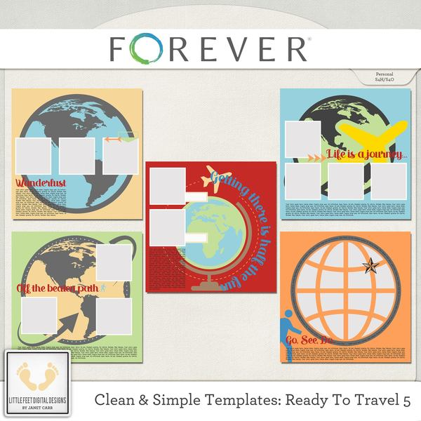 Clean And Simple Templates - Ready To Travel 5