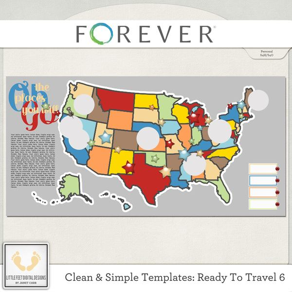 Clean And Simple Templates - Ready To Travel 6