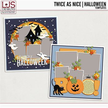 Twice As Nice - Halloween Templates