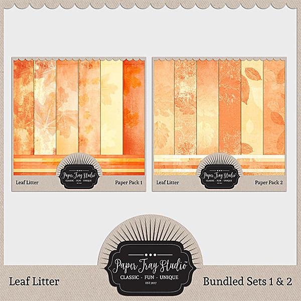 Leaf Litter - Bundle (sets 1-2)