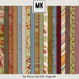 There's No Place Like Fall - Page Kit